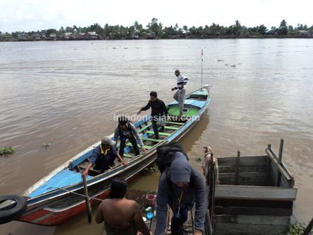 4. Perahu Sepit Sungai Barito