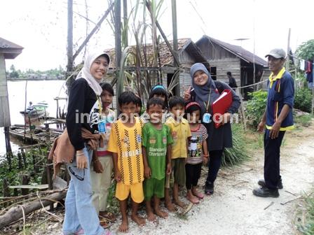 8. Anak-anak Desa Murung Raya Barito Kuala