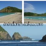 Wisata Lombok Tengah, Berfoto Mesra Bersama Pantai Mawun