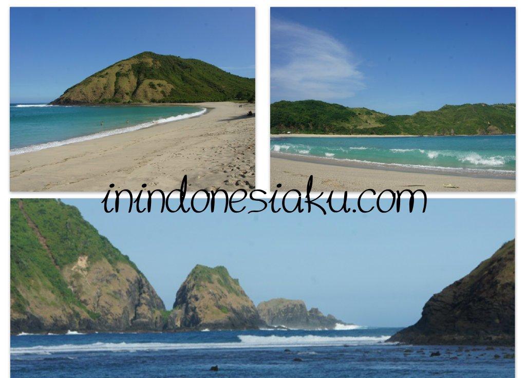 Pantai Mawun Lombok Tengah 2