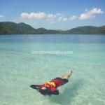 Sejam Tidur di Atas Kasur Air Gili Kedis Lombok Barat
