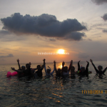 Wakatobi, The Sunset Warmth at Sombu Jeti