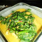 Resep Chicken Wings Curry With Pakis Leaf