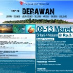 Jejak IDC 09-13 Maret 2016, Open Trip Derawan (DONE)