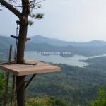 Rumah Pohon Wisata Alam Kalibiru, Foto Berlatar Kedamaian