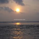 Ujung Genteng, Menikmati Sunset di Pantai Cibuaya