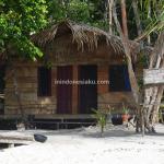 Penginapan di Raja Ampat, Enaknya menginap di kamar Raja Homestay, Desa Salpele, Pulau Waigeo