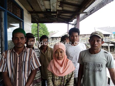 5. Warga Desa Murung Raya Barito