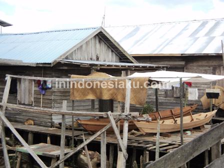 7. Perumahan di Desa Murung Raya