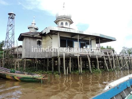 9. Mushola di Desa Murung Raya