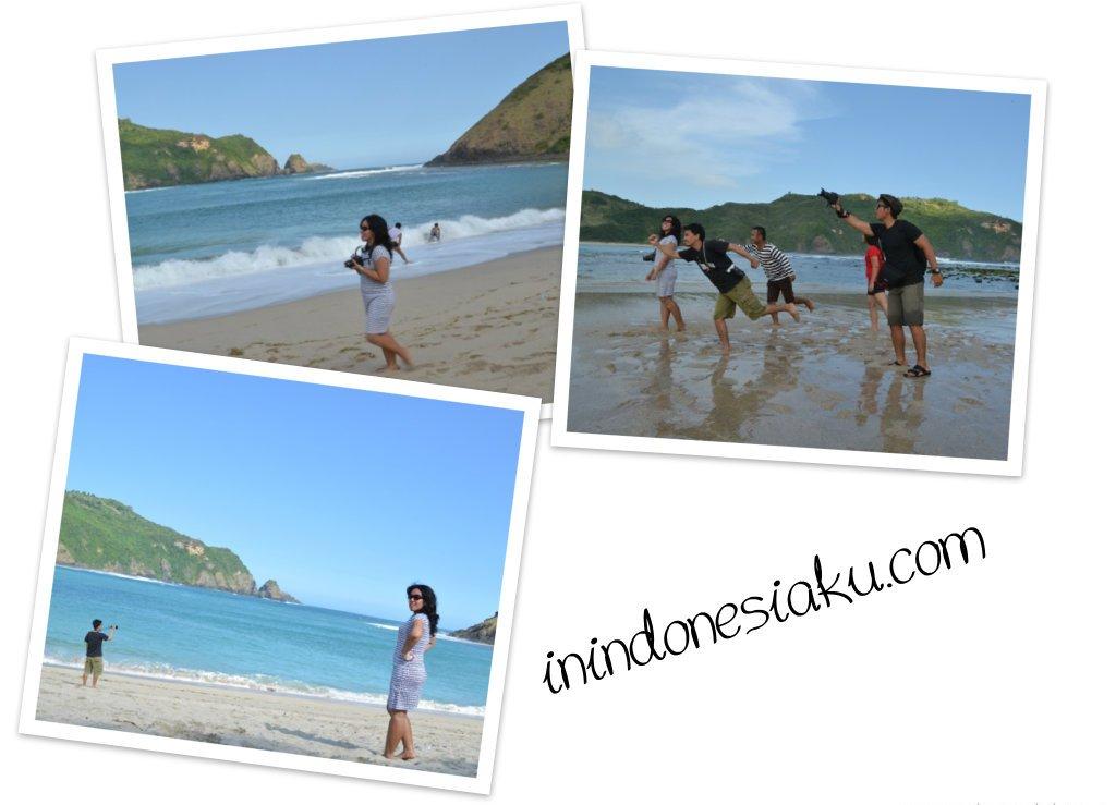Pantai Mawun Lombok Tengah 1