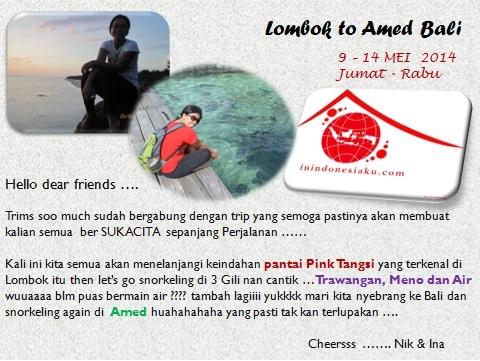 Iten Trip Lombok Amed